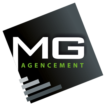Logo de MG Agencement, menuisier à Mormaison